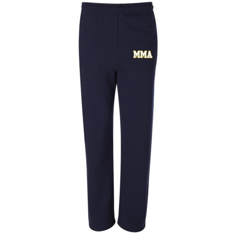 MMA Gym - Jerzees 974/974Y Adult/Youth Open-Bottom Pocketed Sweatpants
