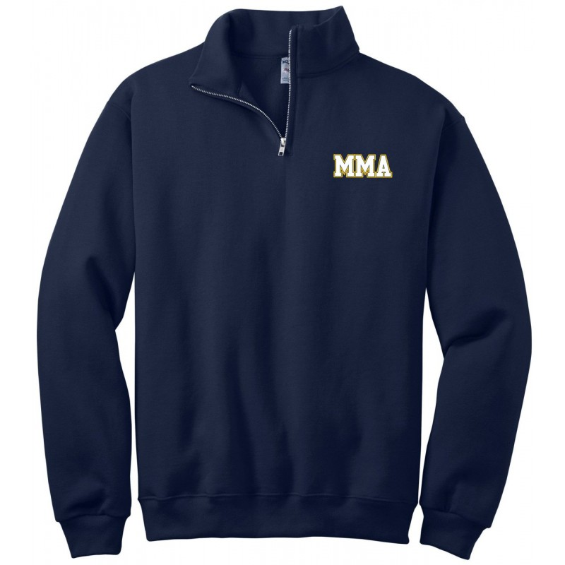 MMA Gym - Jerzees 995/995Y Adult/Youth 1/4 Zip Cadet Collar Sweatshirt