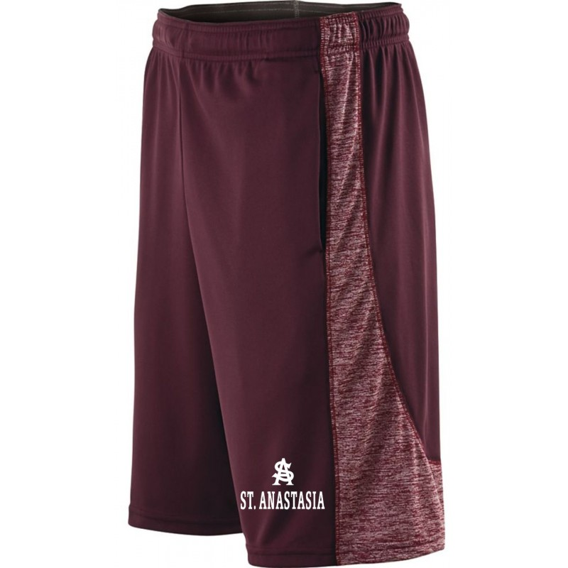 St. Anastasia Gym - Holloway 222528/222628 Adult/Youth Pocketed Performance Shorts