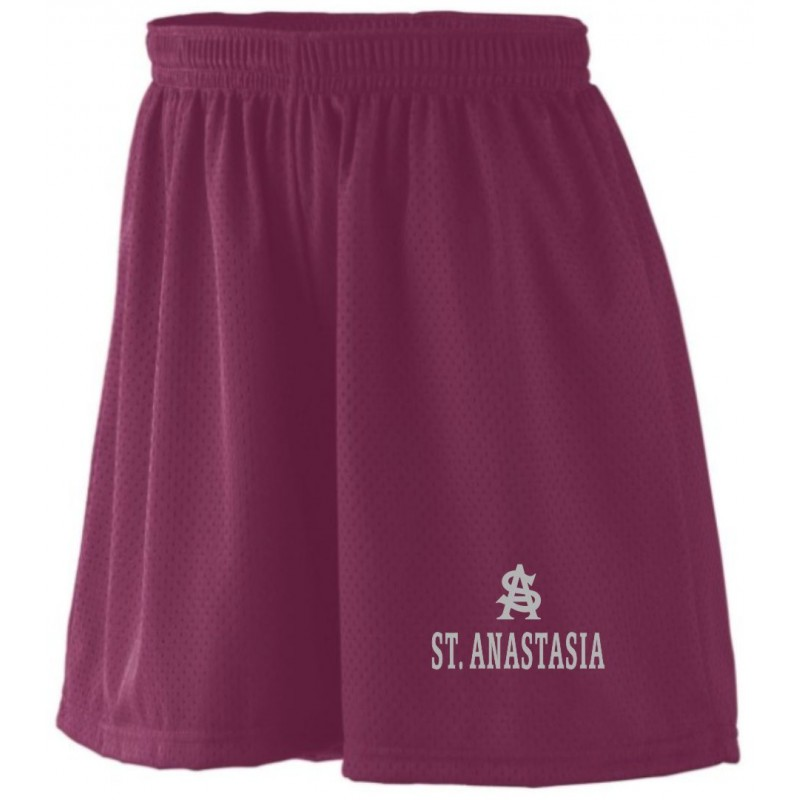 St. Anastasia Gym - Augusta 858/859 Ladies/Girls Mesh Shorts