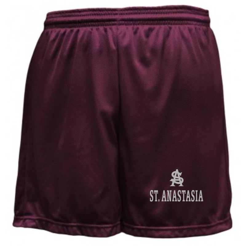 St. Anastasia Gym - Soffe B058 Youth Mesh Shorts