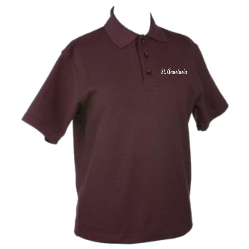 St. Anastasia Gym - Kaynee K4800Y/K4801 Youth/Adult Golf Shirt