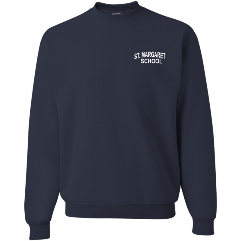 St. Margaret Gym - Jerzees 562/562B Adult/Youth Crew Sweatshirt