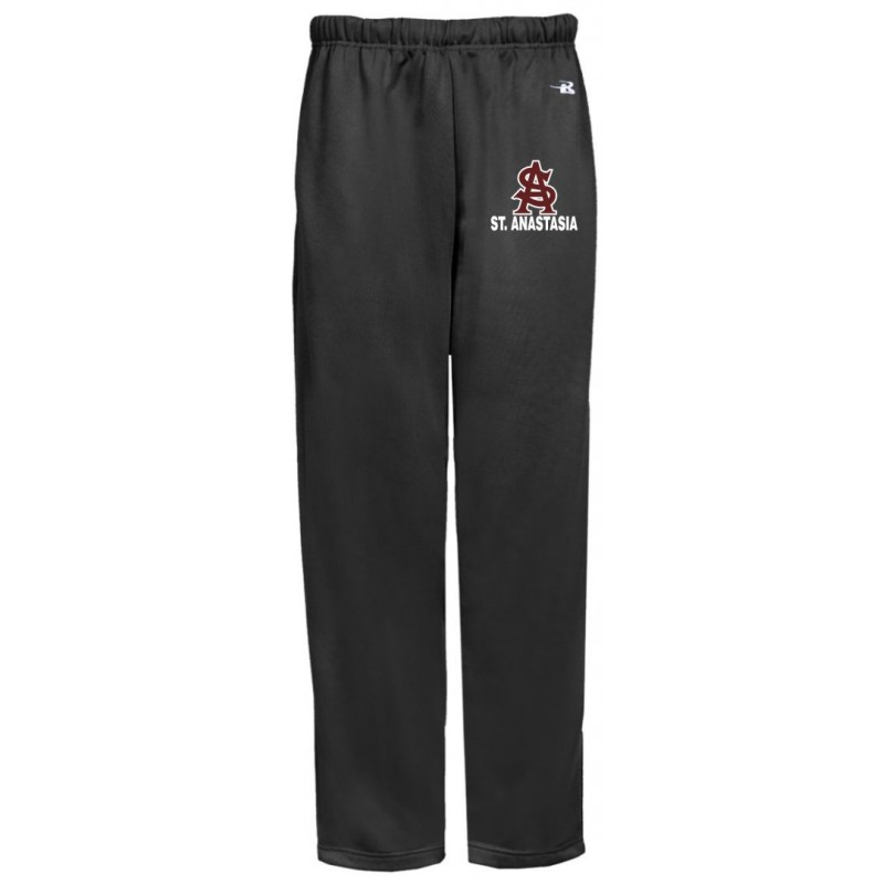 St. Anastasia School Store - Badger 1478/2478 Adult/Youth Open-Bottom Pocketed Performance Sweatpants