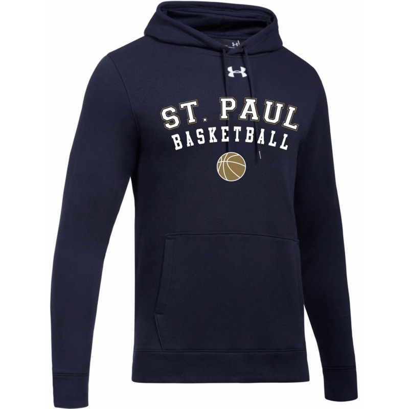 St. Paul School Store - Under Armour 1300123/1300129 Adult/Youth Fleece Hooded Sweatshirt