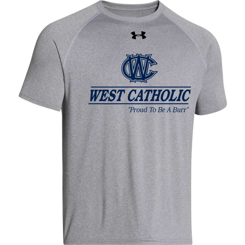 West Catholic School Store - Under Armour 1268471 Short Sleeve Performance Tee