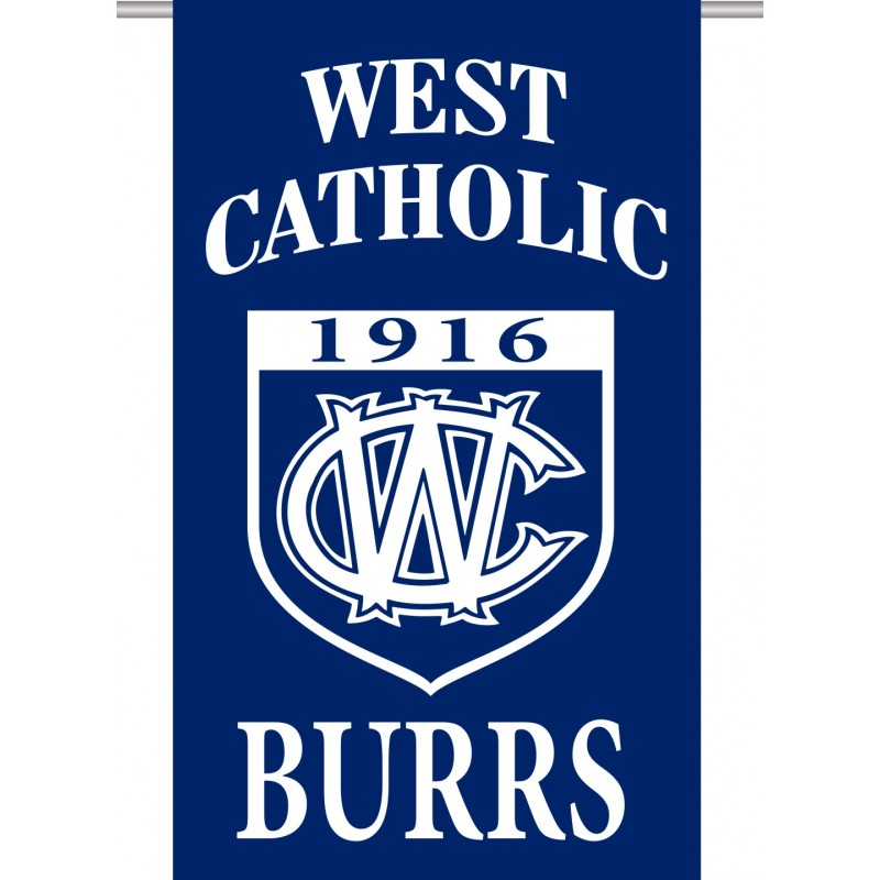 West Catholic School Store - Burrs Flag