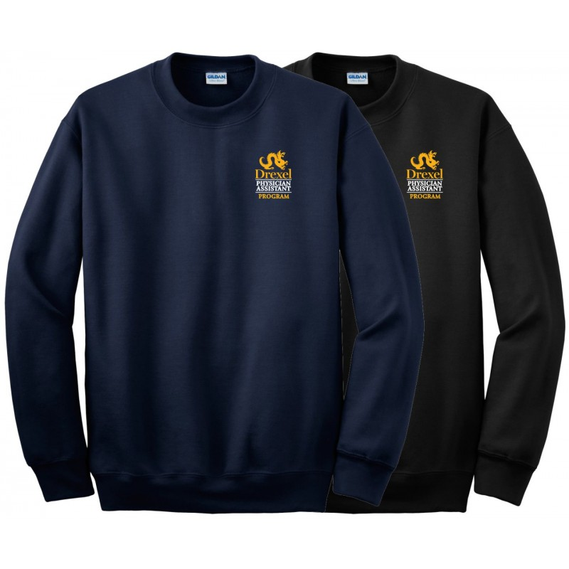 Drexel PA Program - Gildan 12000 Crew Sweatshirt