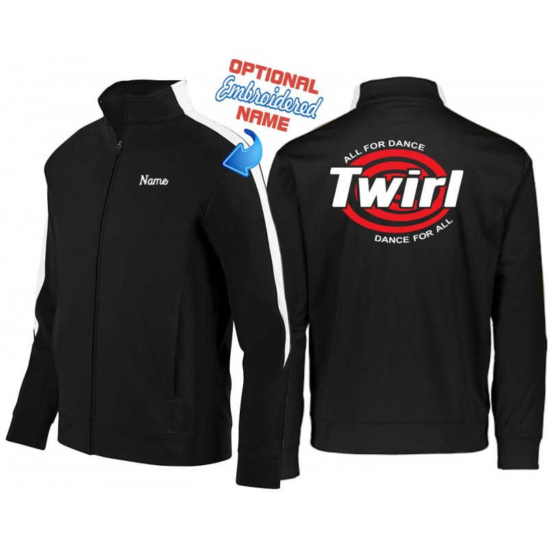 Twirl - Augusta 4395/4396 Mens/Youth Full Zip Jacket